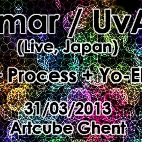 dj Yo-el @ Ubar Tmar (Uvantam) + Process party, Artcube Gent, March 2013