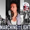 Marching Into The Light by Andres Useche (in support of Immigration Reform)