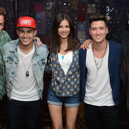 Big Time Rush & Victoria Justice Talk 'Summer Break' Tour
