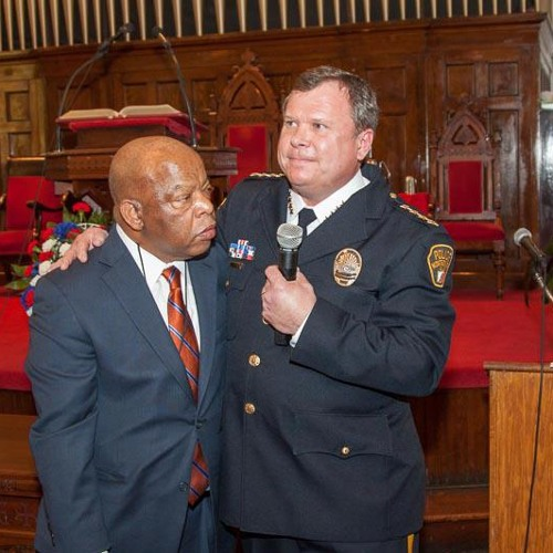 Chief Kevin Murphy at First Baptist Church