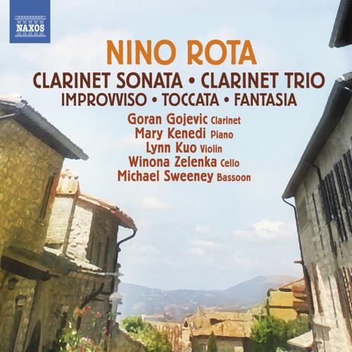 Nino Rota - Sonate D-Dur für Klarinette und Klavier (Auszug)