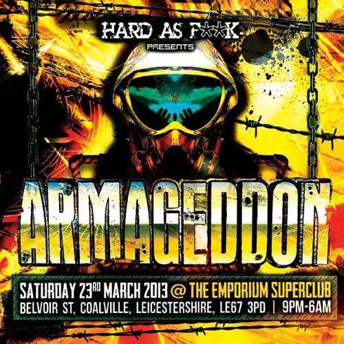 Al Twisted @ Armageddon (Coalville) - 23 March 2013