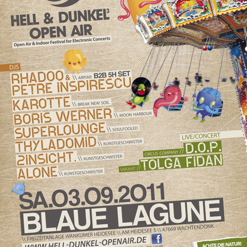 Boris Werner @ Hell & Dunkel Festival 2011