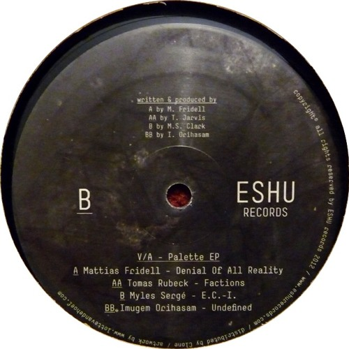 [ESHU002] VA Palette EP - 'Factions'