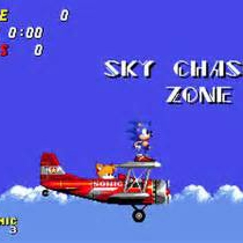 Sonic Sky Chase Zone Cover