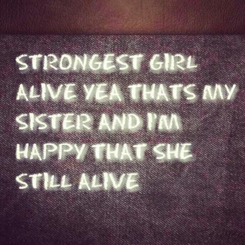 Strongest Girl Alive(Wale Illest B* Instrumental)