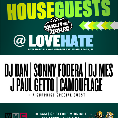 DJ Mes Live @ House Guests WMC 2013