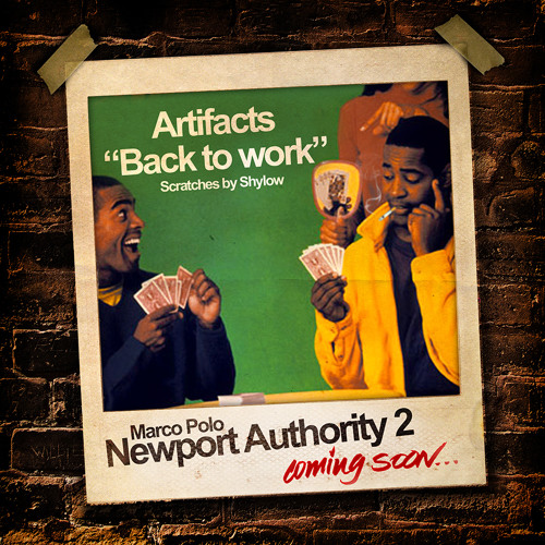 """Marco Polo f. Artifacts """"Back To Work"""" (scratches by Shylow)"""