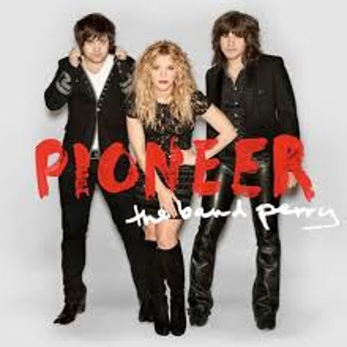 KRMD's Hillary and Fox with The Band Perry