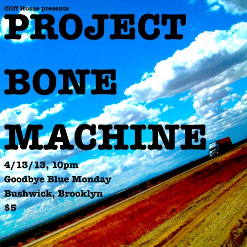 Cliff House's Project Bone Machine Sampler!