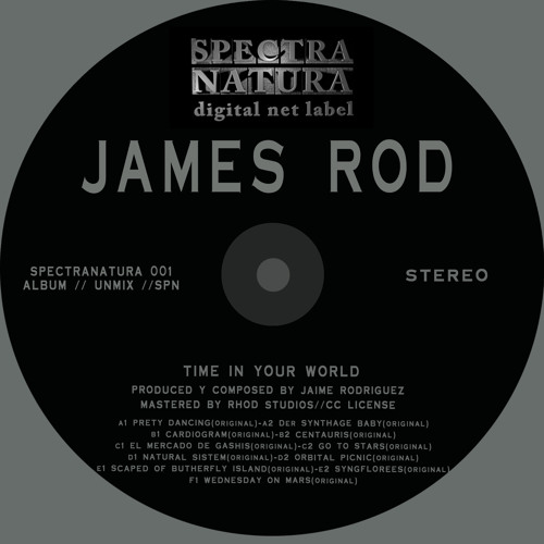 SN001-James Rod-Time in your world