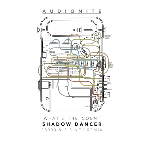 AUDIONITE // What's The Count (SHADOW DANCER '8000 And Rising' Remix) (2013) EXCLUSIVE FREE DOWNLOAD