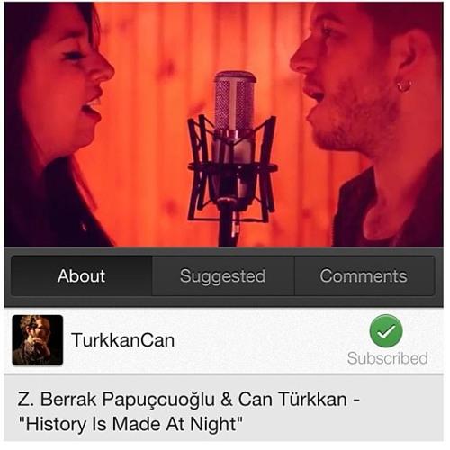 Can Turkkan & Berrak Papuccuoglu - History is Made at Night