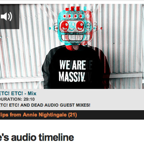 ETC!ETC! Annie Nightingale BBC Radio 1 MIX