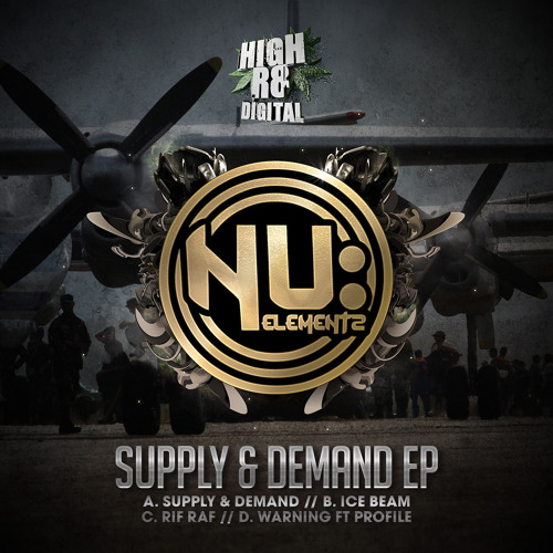 NU ELEMENTZ & PROFILE - WARNING - SUPPLY & DEMAND E.P - HIGHR8DIGI016D - OUT NOW !!!!
