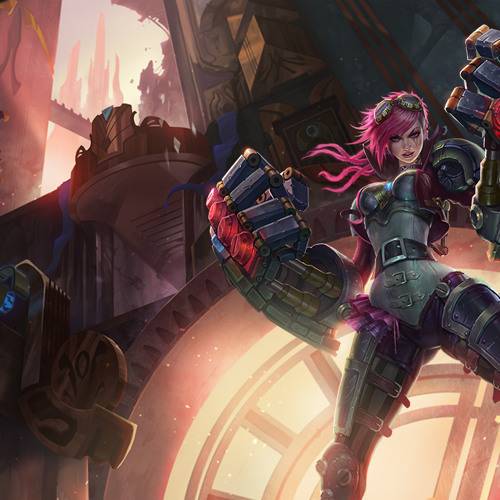 Vi - The beast Champion in LoL (Remixed and Remastered in Cubase 7)