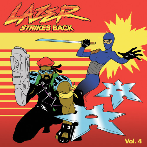 LAZER STRIKES BACK Vol. 4