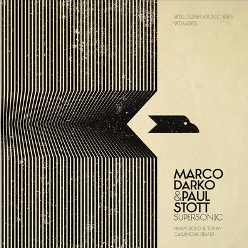 Marco Darko & Paul Stott - Supersonic - Out Now!!