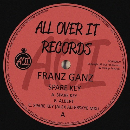Franz Ganz - Spare Key EP  (All Over It Records)