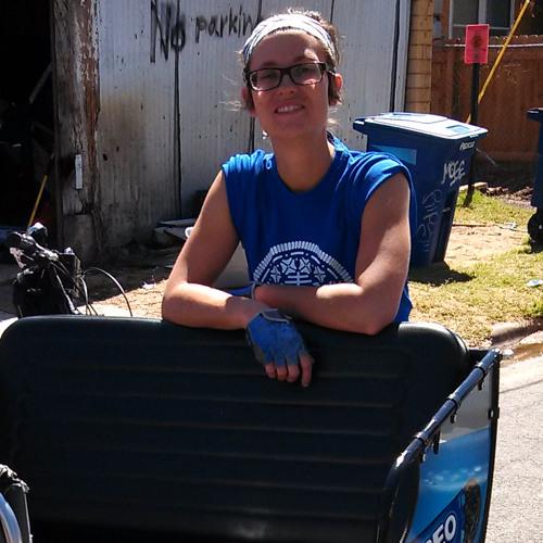 Librarian Slash Pedicabber