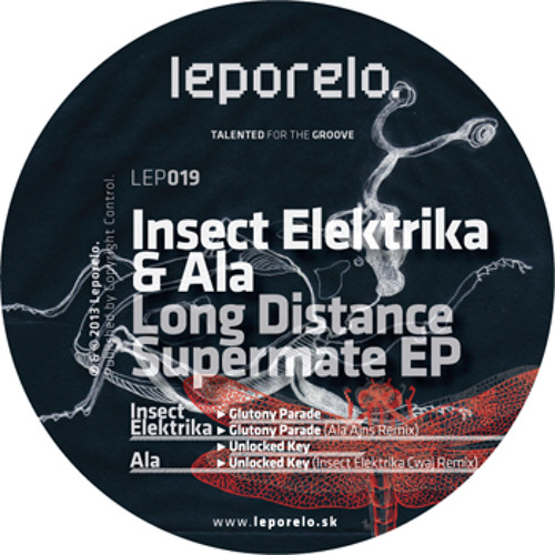 [LEP019] Ala - Unlocked Key (Insect Elektrika Cwaj Remix)