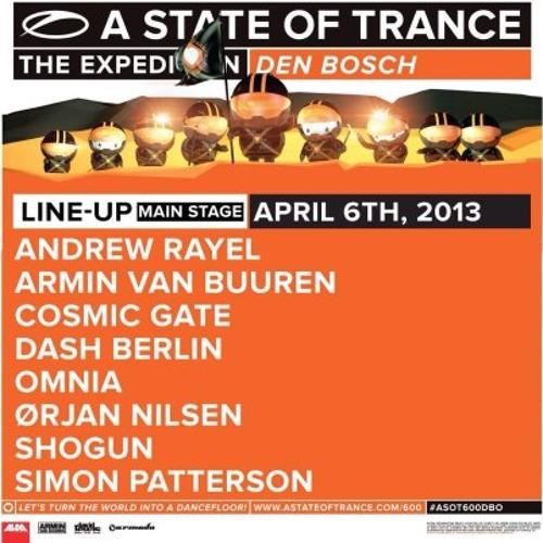 Armin van Buuren @ ASOT 600 Den Bosh [Main Stage - 06.04.2013]