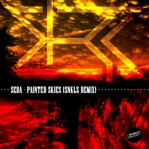 SEBA_PAINTED SKIES (SNKLS REMIX) free DL for Bass Music Magazine