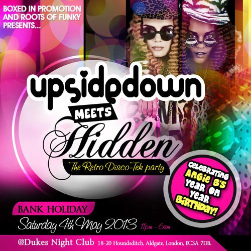 Basement Mix 18 Angie B & Dogtaniaun Upside Down meets Hidden 2013