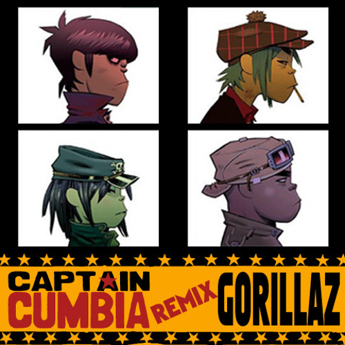 Captain Cumbia remix GORILLAZ [Clint Eastwood]