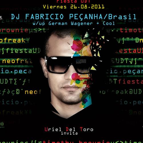 Fabricio Peçanha live at Neofreak (Cidade do Mexico MEX)