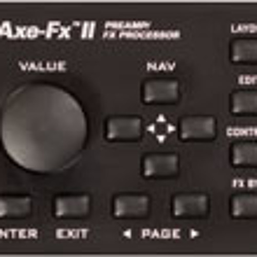 Axefx II Firmware 10 Test - Epic Lead Patch