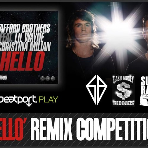 Stafford Brothers Feat Lil Wayne & Christina Milian  - Hello (Mark Thomas remix) [Free Download]