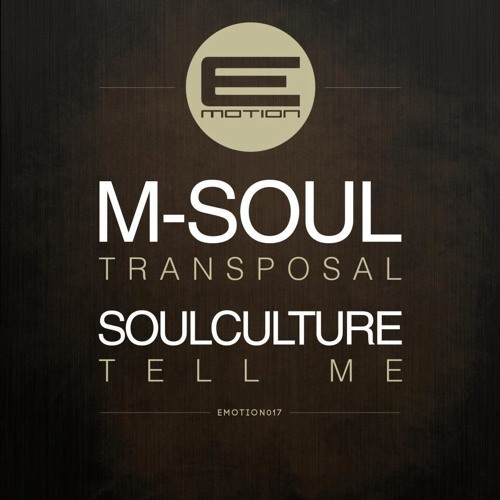 M-soul - Transposal (Out now on E-motion Records)