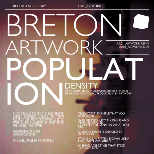 Breton - Population Density - Artwork Remix