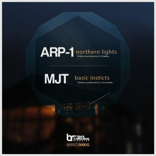"Arp-1 - ""Northern Lights"" - [BRREC008DG] - Forthcoming Black Reflections Records"