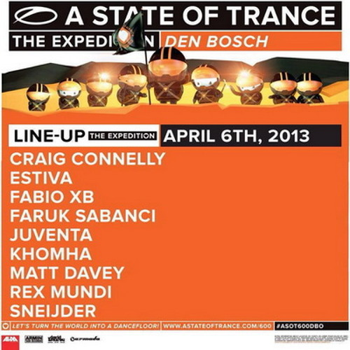 Sneijder Live @ A State of Trance 600 Den Bosch