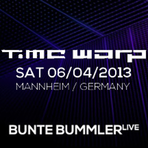 Bunte Bummler LIVE @ Time Warp 2013 (Radio Cut)