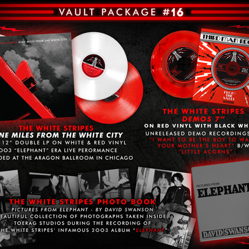 """The White Stripes - """"The Hardest Button to Button"""" Clip (Nine Miles From The White City)"""