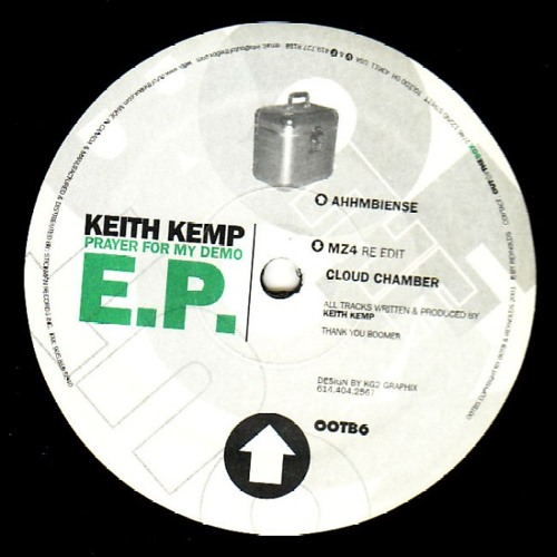"""Keith Kemp-Cloud Chamber-Out Of The Box recordings 12"""" vinyl release OOP"""