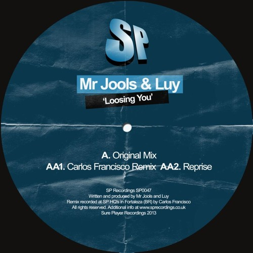 Luy & Mr.Jools - Losing You (original mix)