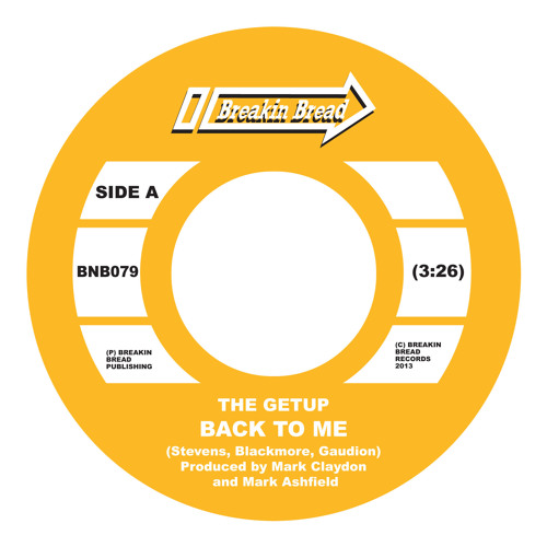 The Getup - Back To Me