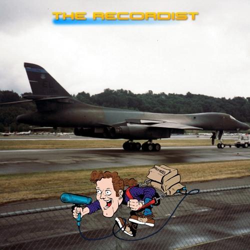 Jet,Military,B-1B,Bomber TheRecordist