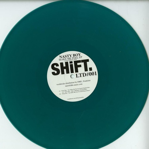 "Nasty Boy - Take a Moment (Original Mix) SHILTD001 12"" (250pcs Limited / Coloured Vinyl)"