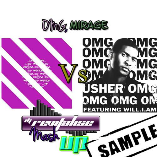 Pryda Vs Usher - OMG, Mirage (Revitalise Mashup) Sample