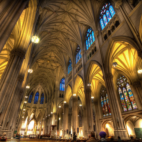 St. Patrick's Cathedral 5:30pm Mass