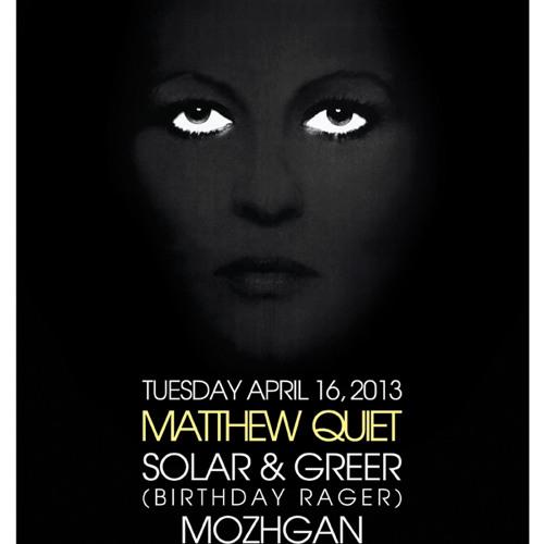 Matthew Quiet - We Are Monsters Mix April 2013