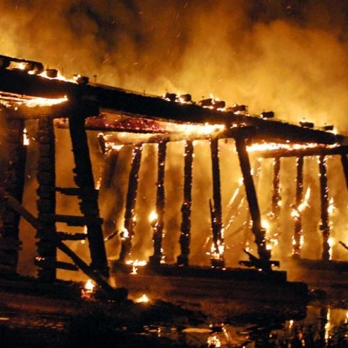 "3 Bridge is Burning (v2.0) - from ""Eurydice's footsteps"" by Russl Califa"