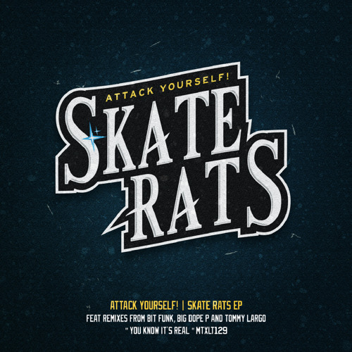 ATTACK YOURSELF! - SKATE RATS EP (Snippets) OUT NOW !!!