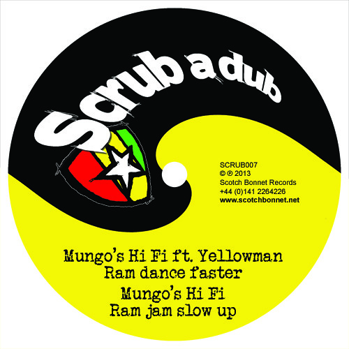 SCRUB007 B2 Mungo's Hi Fi - Ram jam slow up