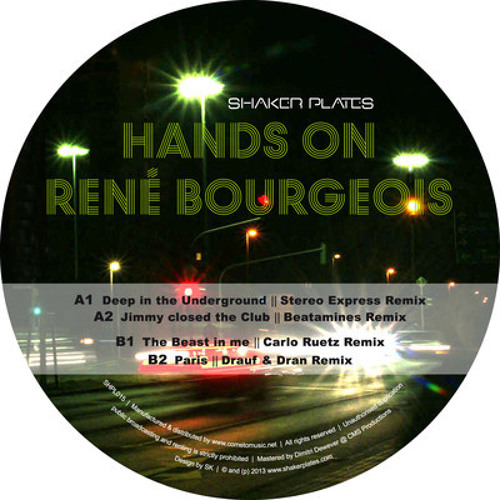 Rene Bourgeois - Deep in the Underground (Just Emma Remix) - snippet